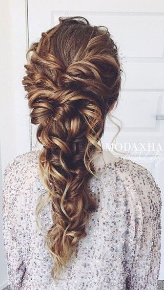 Soft romantic ponytails are one of our fave hairstyles
