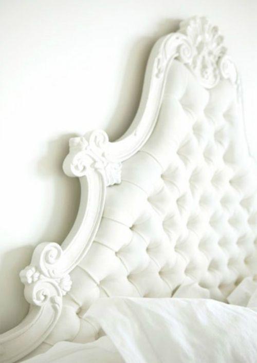 Gorgeous Tufted Headboard White Out Pinterest