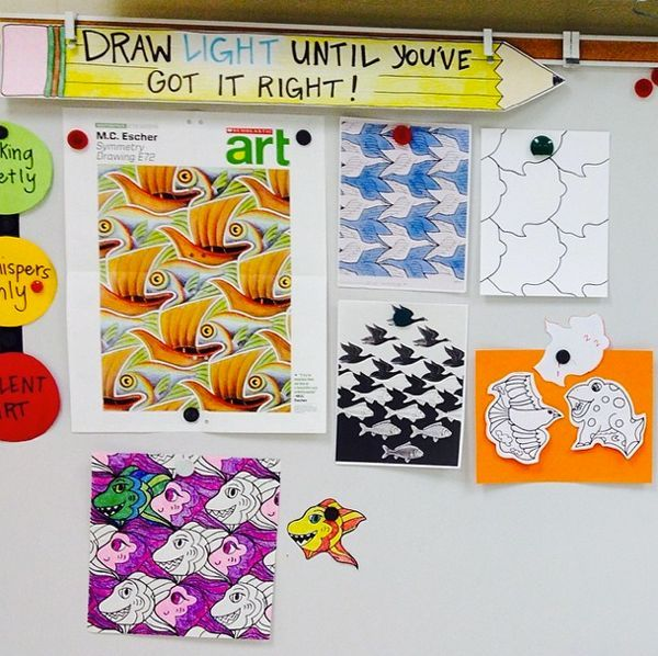 Image result for elementary art room organization