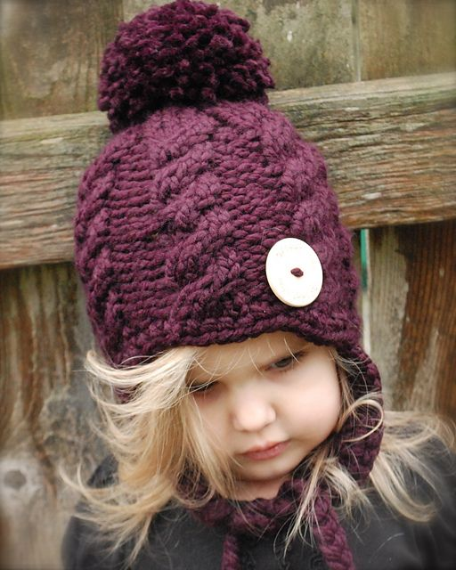 Ravelry: The Roxie Hat pattern by Heidi May