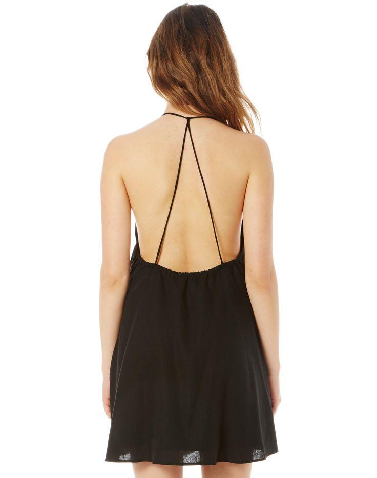 Linen Blend Halter Dress | Buy Online at Glassons (com ...