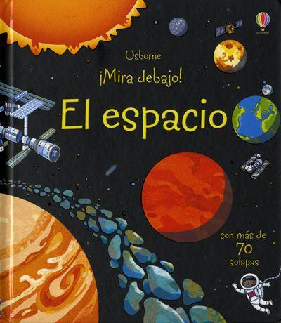 espacio -Libro informativo sobre el espacio, con más de 70 solapas y un…
