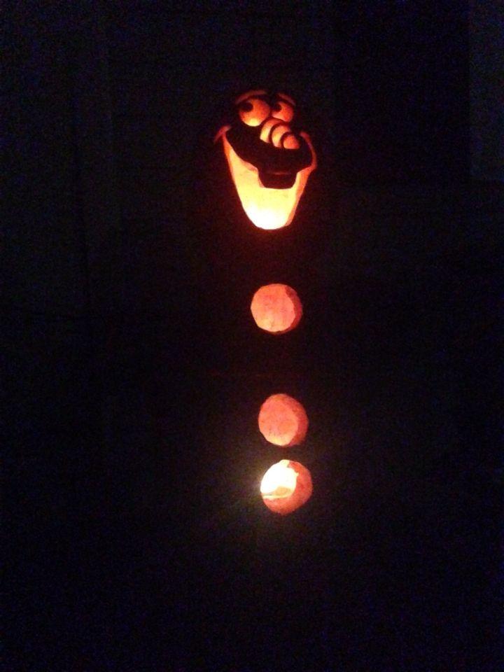Best frozen pumpkin carving ideas on pinterest