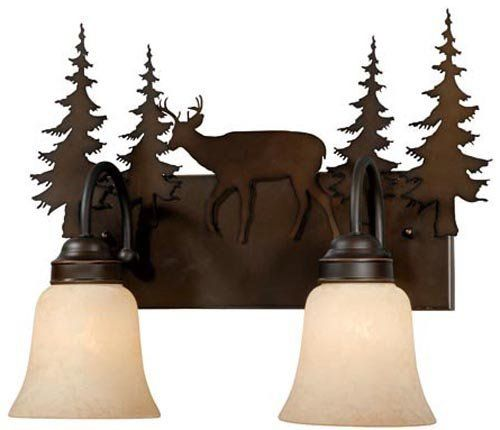 29 best lighting ceiling fans wall lights images on Rustic bathroom vanity light fixtures