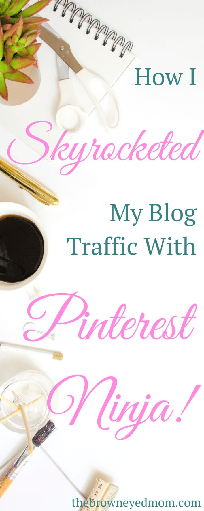 Boost Your Blog Traffic With Pinterest Ninja! - The Brown Eyed Mom