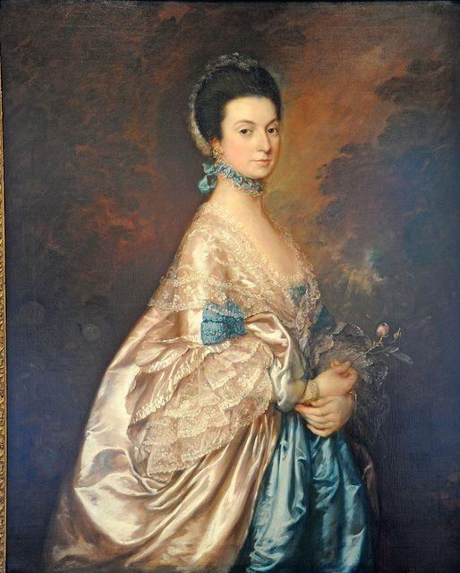 Mrs. Edmund Morton Pleydell, about 1765 Thomas Gainsborough