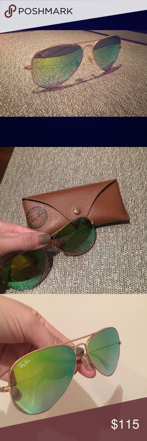 ray bans round metal