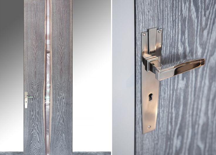 door knob doors handle interior design unique wood wooden home Nowa kolekcja drzwi - na miarę wymagań współczesności - Architektura, wnętrza, technologia, design - HomeSquare