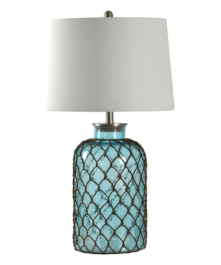Look at this #zulilyfind! Journee Home Mermaid Net & Glass Table Lamp by Journee Home #zulilyfinds