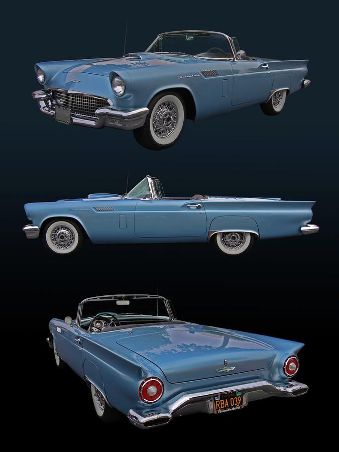 1957 Ford Thunderbird (I've always wanted this car!)