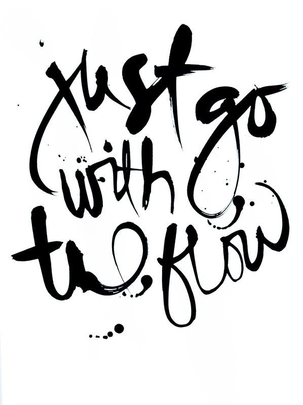 Just go with the flow. #FindYourYes #Kohls #quote