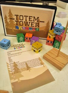 Totem Tower Game Design A Wooden Playset For Children Based On Native American Totem Poles