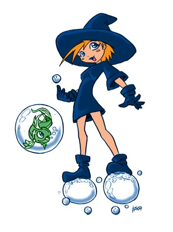 Little Water Witch (Color3)