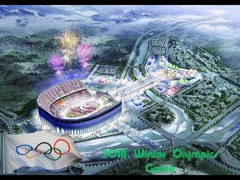 2018 Winter Olympics Game,Pyeongchang County,South Korea,Olympi...