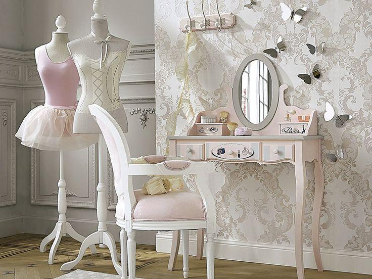 #Dormitorios #juveniles para auténticas princesas: decoración femenina y con mucho encanto