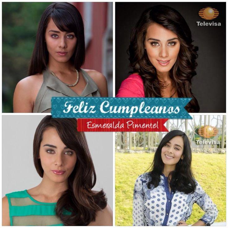 """Actriz Esmeralda Pimentel , Protagonista de """"El spalva de la Pasion"""" ¡muchas Felicidades!  2014.09.09"""