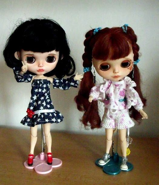 5 x BlythePULLIP clothes Free shipping  15.8.2017 End of