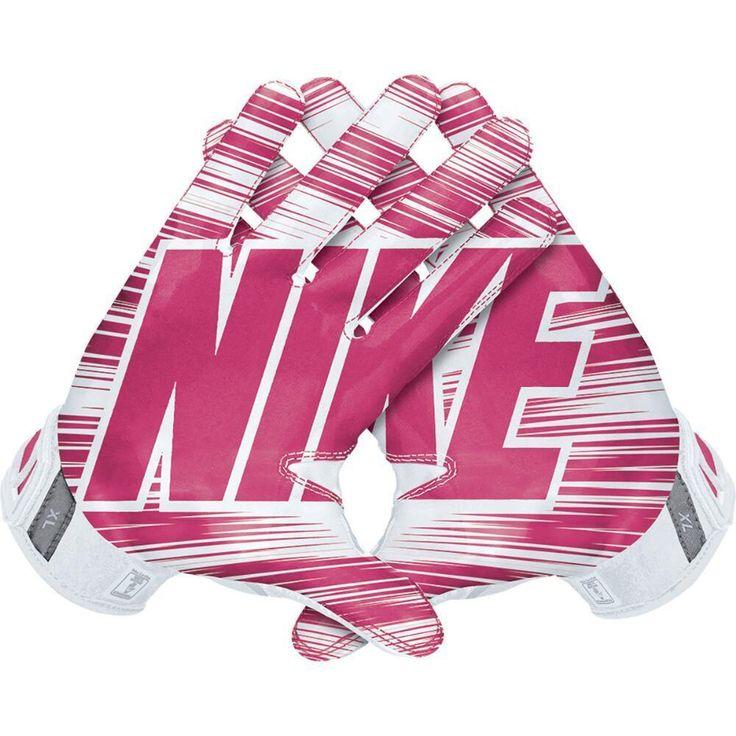 Nike Vapor Jet 3.0 Football Gloves, GF0217-168 Adult Pink-White BCA MSRP $50 #NIKE