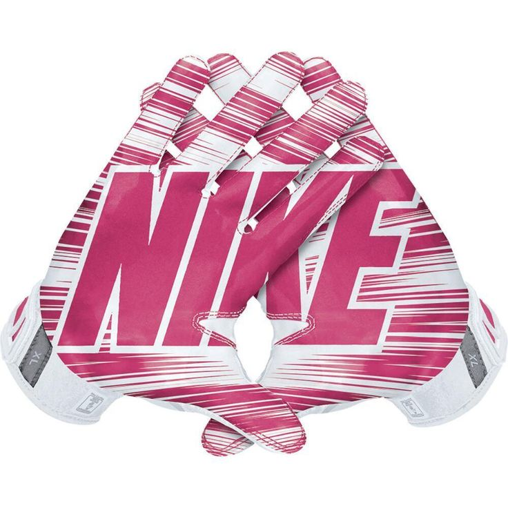 Nike Vapor Jet 3.0 Football Gloves, GF0217-168 Adult Pink-White BCA MSRP $50 #NIKE