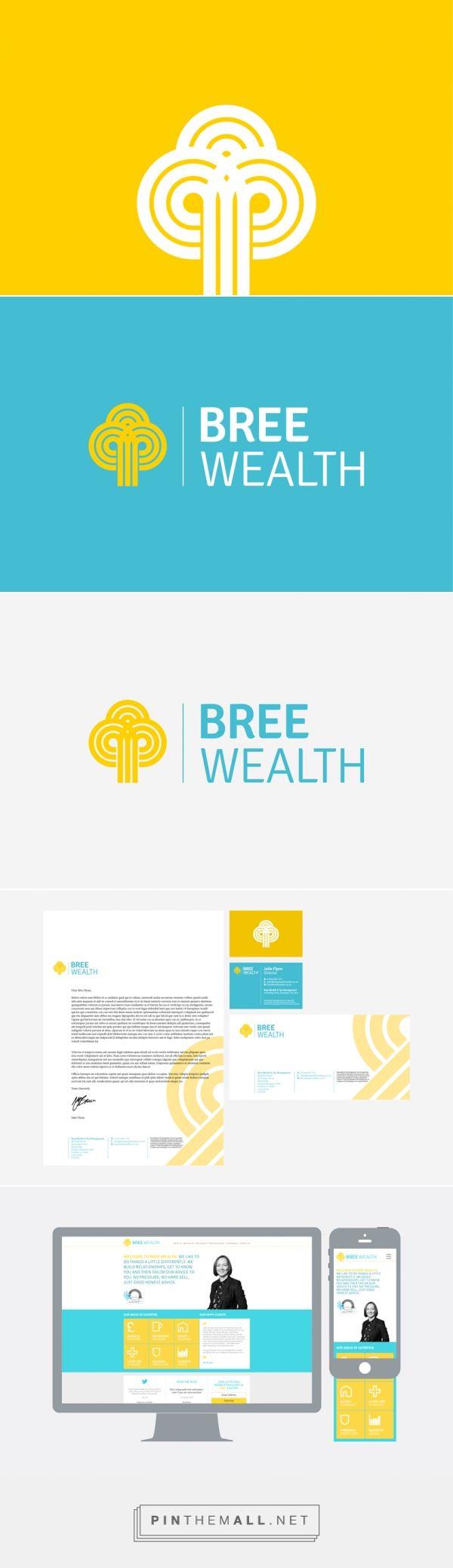 Bree Wealth Branding - The Design Attic - created via https://pinthemall.net