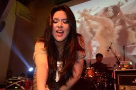 #beauty #singer #inspired #raisa andriana
