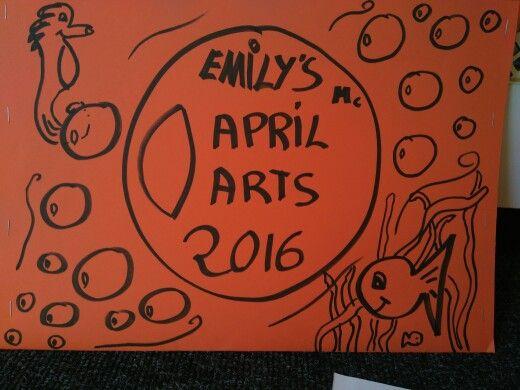 Bubble art folder