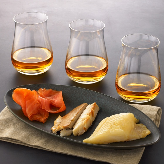 Smoked fish and scotch? Yes, please