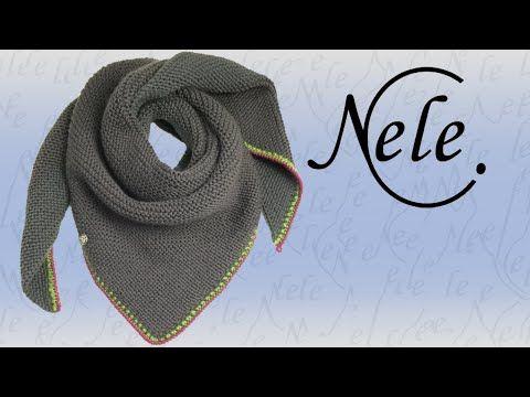 Tuch stricken für Anfänger, Anleitung Einfaches Stricktuch, Simpling, DIY by Nele C., My Crafts