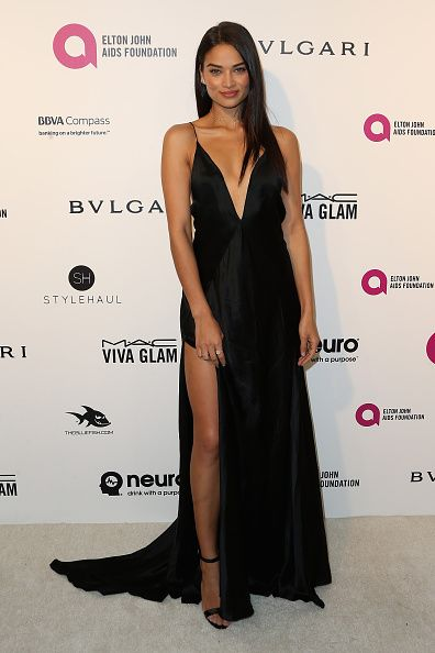 Shanina Shaik || 24th Annual Elton John AIDS Foundation's Oscars Viewing Party (February 28, 2016)