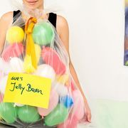 If you're struggling to come up with a last-minute Halloween costume, or you just want to do something creative that everyone won't be doing this year, make yourself a jelly bean costume. This cute bag of jelly beans costume takes only mere minutes to put together, but looks just precious. Kids will love dressing up for Halloween as a bag of...