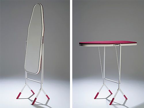 Genius Ironing Board Doubles As A Full Length Mirror