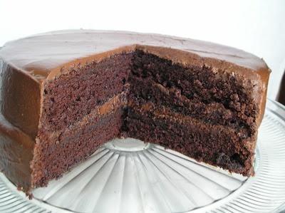 Mocha Fudge Chocolate Cake | Indulge | Pinterest