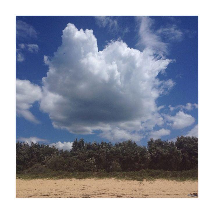 Umina beach sky // clouds // central coast