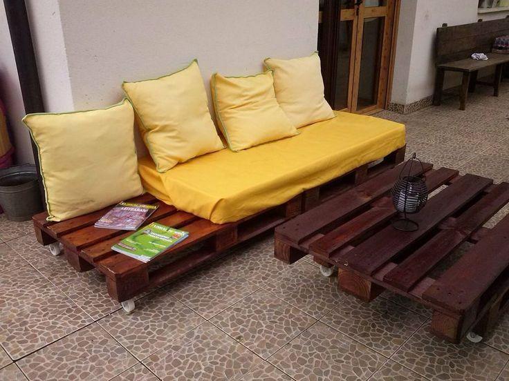 14 best sofas con palets en pinterest images on pinterest - Sofas con palets ...
