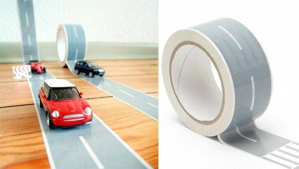racecar tape!: Duct Tape, For Kids, Hardwood Floors, Racetrack Tape, Kids Crafts, Racing Cars, Autobahn Tape, Racecar Tape, Masks Tape