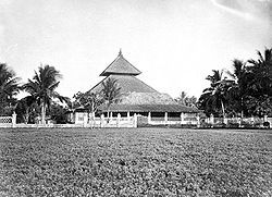 Demak Great Mosque - Pictures of the mosque at the end of the 19th Century