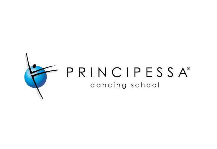 PRINCIPESSA | Client PRINCIPESSA DANCING SCHOOL | Project Logo and Logotype - Corporate Identity