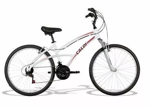 bicicleta caloi 500 aro 26 branca aluminio