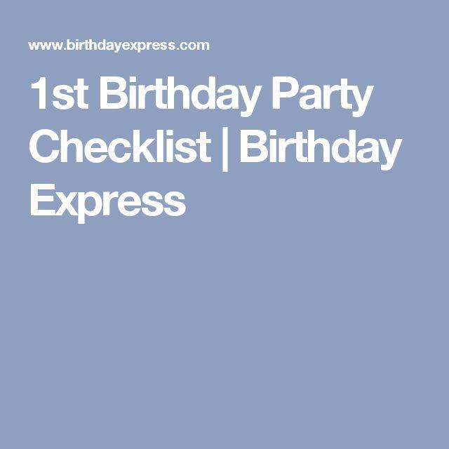 Best 25+ Birthday party checklist ideas on Pinterest Party - birthday party planning checklist template