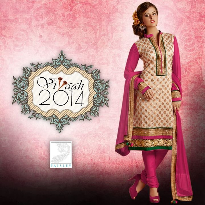 Showcase #elegance and finesse with the perfect mix of tradition and style with #Vivaah2014