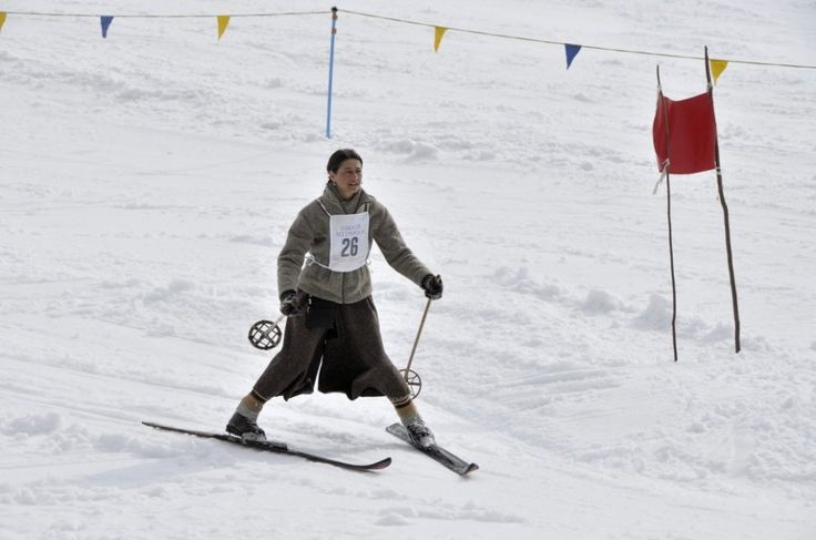 Domenica a Sauze d'Oulx la trentesima gara di sci d'epoca