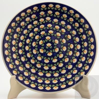 10  Dinner Plate (Tulip Azul) & 9 best Polish Pottery dinner plates images on Pinterest | Dinner ...