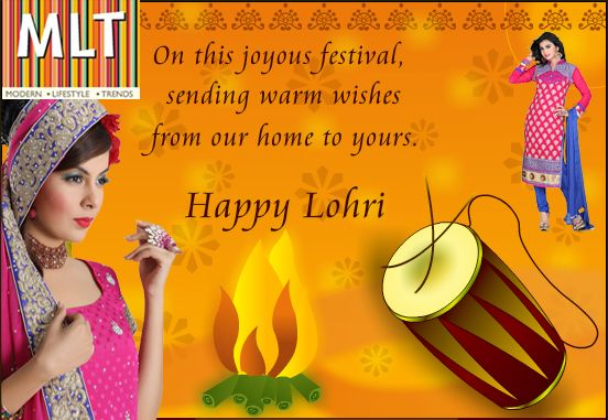 With the start of New Year in India, the celebration times with festivals have also started. MLT Suits wishes you a very happy #Lohri, #Makar #Sankranti and #Baisakhi to all the Indian families across the world. Enjoy the festive season and connect with your families world-wide with Mltsuits.com, the India's most popular fashion store for women.
