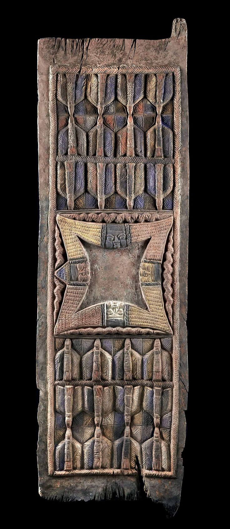 Africa old palace door from the yoruba people of nigeria for Yoruba architecture