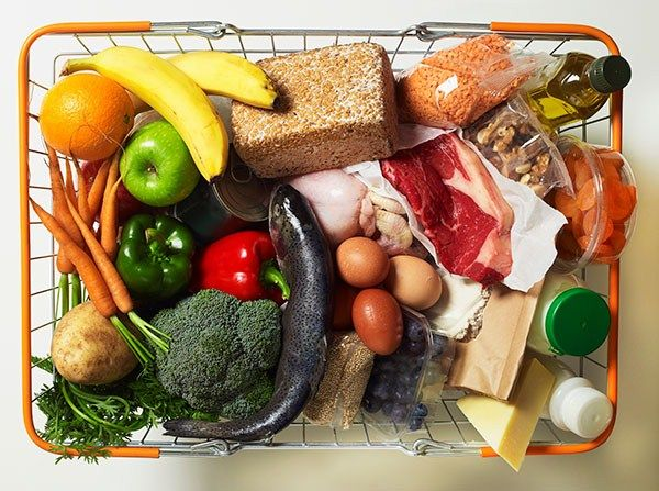 What to put in your shopping trolley to keep you running strong and nourished.