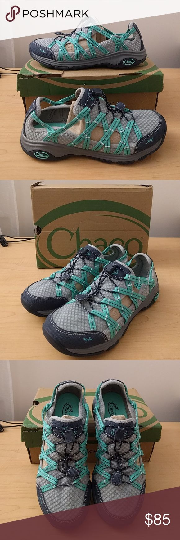 Chaco Women's Outcross Evo Free sport water shoe Brand new women's size 8. Box is a bit damaged. Chaco Shoes Athletic Shoes