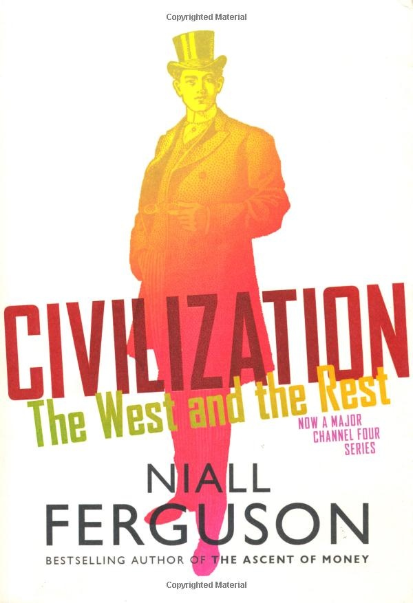 #Niall Ferguson. This book is among the best when it comes to taking a survey look of world history. If you are interested as to why the West dominated the world, both economically and culturally, this is the book for you.