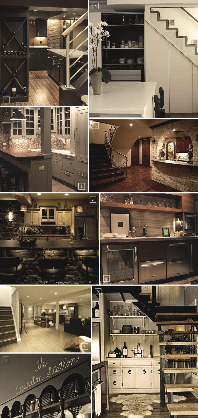 De 20 b sta id erna om basement kitchen p pinterest for Basement kitchen ideas