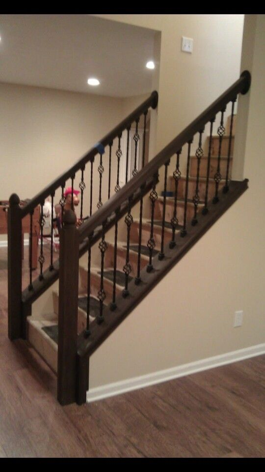 Best 25 Stair Handrail Ideas On Pinterest: 25+ Best Ideas About Iron Staircase On Pinterest