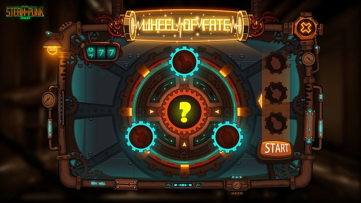 Concept Game Ui DesiGn - SteamPunk-OriGin on Behance